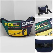 Polo Ralph Lauren - Sport Bum cross body waist Bag Pouch Multi stadium