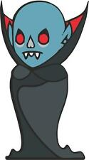 sticker decal car bike bumper home halloween spooky kid horror vampire