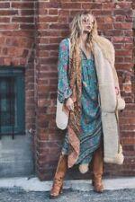 Boho V-Neck Long Sleeve Dresses for Women