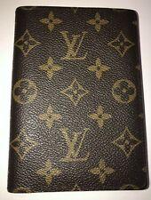 LOUIS VUITTON Passport Cover Wallet Photo Holder Monogram - RARE