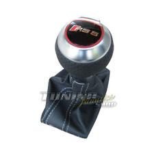 Genuine RS5 DSG Gear Knob Leather Gearshift Knob Aluminum for Audi A5 S5 8T