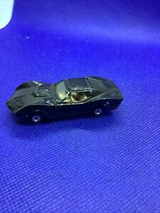 Vintage Toy Car Aurora Cigar Box Corvette Mako Shark Die Cast Made in USA Painte