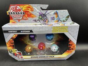 Bakugan GEOGAN Brawler 5 Pack Mutasect Vipergon Dragonoid Ferascal Pincitaur