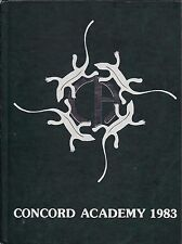 High School Yearbook Concord Massachusetts MA Concord Academy 1983