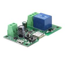 DC 5V-12V Self-locking Sonoff WiFi Wireless Smart Switch Home Relay Module