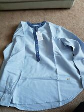 New VIOLETA by MANGO Women's Cotton Oxford Shirt  SIZE L
