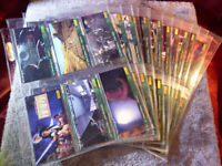 85 x STAR WARS Return of the Jedi Topps Widevision Collector Trading Cards 1996
