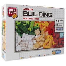 Block Tech Assorted Building Blocks Bricks 250 Pieces