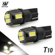 2X T10 921 High Power 2538 Chip LED License Plate Interior SMD Light Bulbs White
