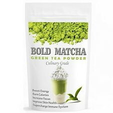 USDA Organic Bold Matcha Green Tea Powder-Health Benefits-Weight Loss-16oz