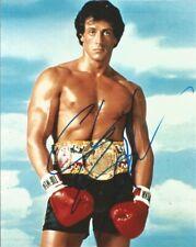 Sylvester Stallone (Rocky 3 - Rocky Balboa), Hand Signed 10 X 8 Photo.