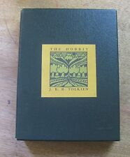 THE HOBBIT by J.R.R. Tolkien -1976 slipcase box - FINE - illustrated