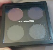 MAC Eyeshadow Quad ~EVIL EYE~+Gift of Eyeshadow Brush!-LOW WORLDWIDE SHIP!