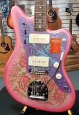 Brand New Fender Made in Japan Traditional 60s Jazzmaster Pink Paisley FREE GIFT