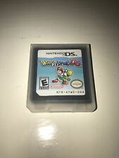 Yoshi's Island DS Video Game W/ Case for Nintendo DS Lite TESTED