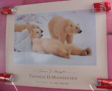 "'Thomas D Mangelsen ""Bad Boys of the Arctic"" SIGNED"