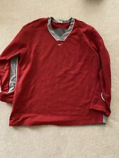 Nike Vintage Hoop Tech - Sweatshirt V Neck - Pullover Top Men's Size Xxl