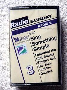 76304 Cassette 3 Sing Something Simple [NEW / SEALED] Cassette Album