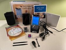 Hp iPaq Pocket Pc H5454 Win Mobile 2002 400Mhz + Extras
