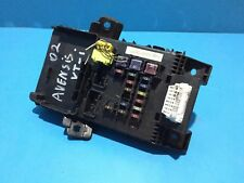 Toyota Avensis Fusebox and Fuses 8273005020 | 180354021301