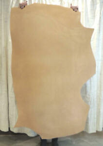 5-6 oz. Veg Tan Cowhide Leather Suede for Sheaths Bags Journals Slings Cases