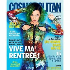 COSMOPOLITAN Magazine FRANCE FRENCH Katy Perry NEW