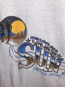 Tucson Arizona Sun marathon shirt mens BMOC casualwear tag M fits S vintage 80s