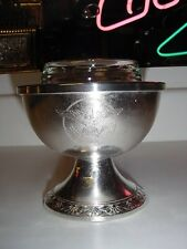 SS UNITED STATES LINES  Silver Supreme Ice-Cream Stand  /  Good Condition