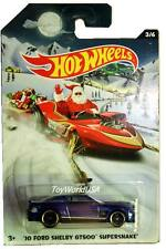 2015 Hot Wheels Holiday Hot Rods Christmas #3 '10 Ford Shelby GT500 Super Snake
