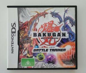 Nintendo DS Bakugan Battle Brawlers Battle Trainer incl manual Fast Shipping