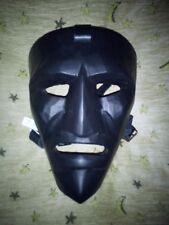 Maschera Carnevale di Mamoiada, Mamuthone originale artigianale in legno. F.Sale