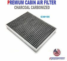 C38155 PREMIUM CARBONIZED CABIN AIR FILTER For 2015 2016 2017 FORD MUSTANG FP78