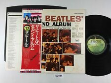 ra2944 The Beatles The Beatles' Second Album EAS-80563 OBI Vinyl LP Japan