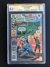 DC COMICS PRESENTS 26 *CGC 8.5 SS* SIGNED GEORGE PEREZ *1ST APP NEW TEEN TITANS*
