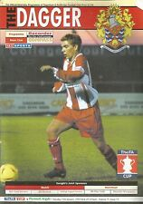 Programme - Dagenham & Redbridge v Plymouth Argyle - FA Cup Replay - 14/1/2003