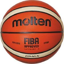 molten Basketball GM6X - Top Trainingsball aus synthetischem Leder - BGM6X