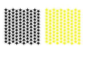10mm 14mm 20mm COLOURED STAR REVARD STICKERS CHART LABELS ORGNISING FREE P&P