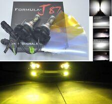 LED Kit X3 50W 9005 HB3 3000K Yellow Two Bulbs Head Light High Beam Replace OE