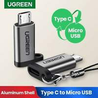 Ugreen Type C Female To Micro Usb Male Adapter Data Sync Quick Charge Qc 2.0 New