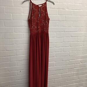Pretty Long Prom/ Evening  Dress From Morgan And Co Size 4/6
