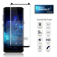 100% tempered glass screen protector for Samsung Galaxy S9 - Black