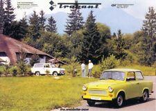 Ansichtskarte: Werbebild für PKW IFA Trabant für den Export