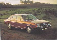 Audi 80 GLS European issue postcard 1976-77