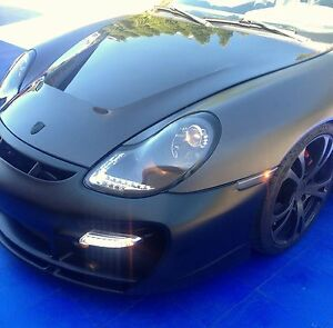 Porsche 911 Boxster 996 997 Turbo style LED DRL turn signal flasher lights
