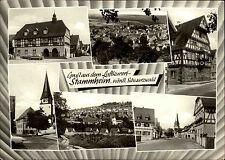 STAMMHEIM im Schwarzwald 6 Ansichten Mehrbild-AK 1971 Häuser Strassen Kirche