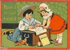Art apporte faveurs (Livre de coloriage ausmalbuch) de 1900 Chrome lithographies