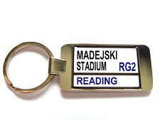 READING STADIUM BADGE STREET SIGN KEYRING KEY FOB GIFT