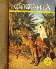 Album relié de Geographia de 6 numéros -1951-1952 - Reliure   vintage-géographie