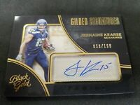 2016 Panini Black Gold Gilded Signatures /199 Jermaine Kearse Auto Card Seattle