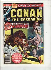 Conan Annual #4 vf-